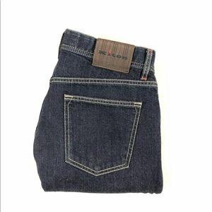 Kiton Napoli Dark Wash Denim Jeans 34x34 EUC